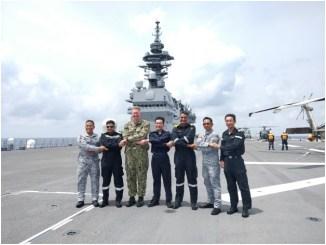 IN Ships Kolkata & Shakti