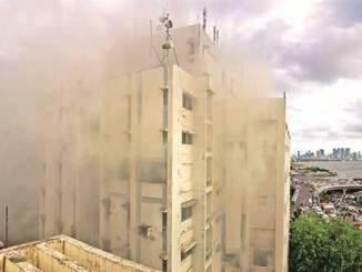 fire incidents in BSNL,MTNL buildings in Delhi, Mumbai & Kolkata