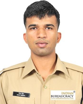 Rohit Meena IPS AGMUT