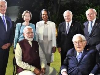 PM meets members of JP Morgan International Council