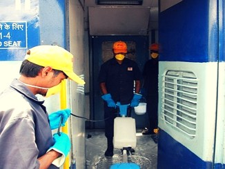 Housekeeing Services in Running Trains