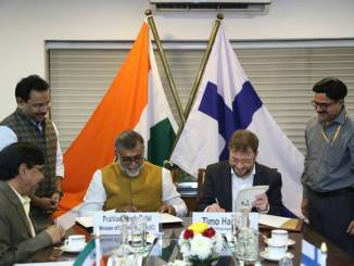 MoU between India and Finland for strengthening cooperation