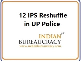 12 IPS UP transfer, Uttar Pradesh Police