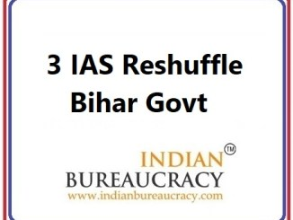 3 IAS Transfer in Bihar Govt