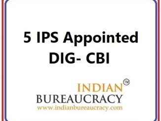 5 IPS appointed as DIG in CBI