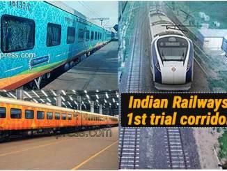High Speed Corridors in Indian Railways