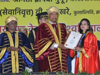 President of India in Jharkhand; Addresses The First Convocation of Central University of Jharkhand