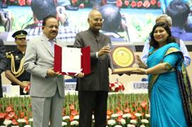Scientists from DRDO & IIT Delhi receive National Award