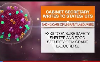 Cabinet Secretary writes to all States UTs to ensure Safety, Shelter and Food Security of Migrant Labourers