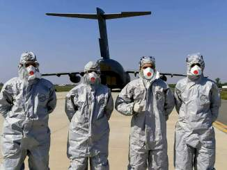 IAF Continues Its Support Towards Fight Against Coronavirus (COVID-19)