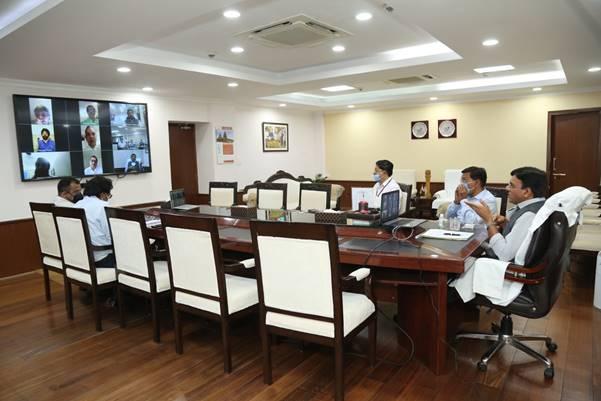 Mansukh Mandaviya interacts with various associations