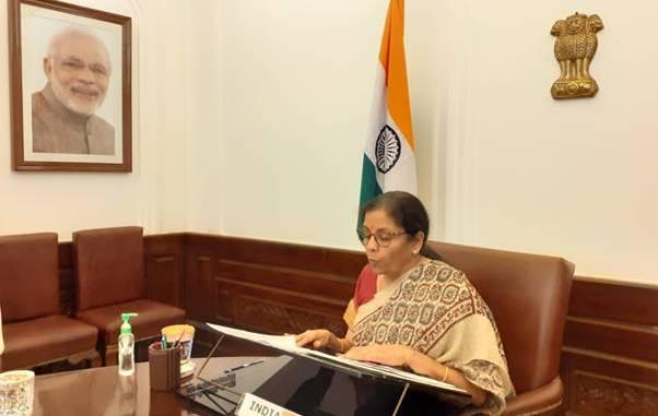Nirmala Sitharaman attends the 2nd G20