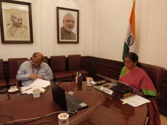 Nirmala Sitharaman attends the Development Committee Meeting of the World Bank-IMF