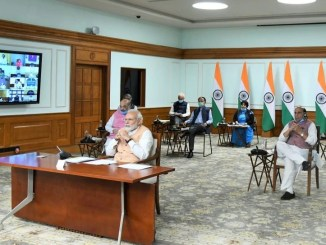 PM interacts with Central Ministers, underlines importance of being motivated, determined & vigilant against COVID-19