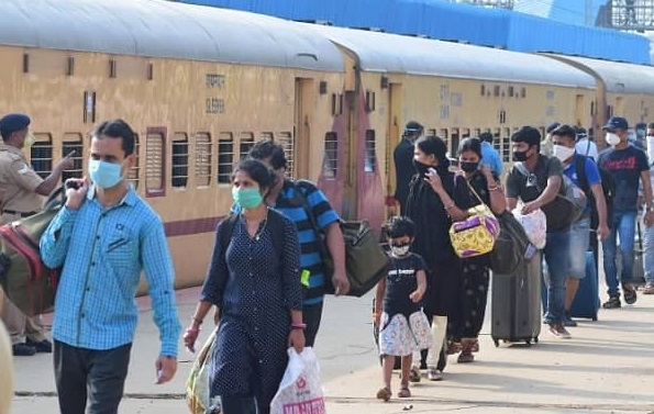 "Indian Railway operates 283""Shramik Special"" trains till 09th"