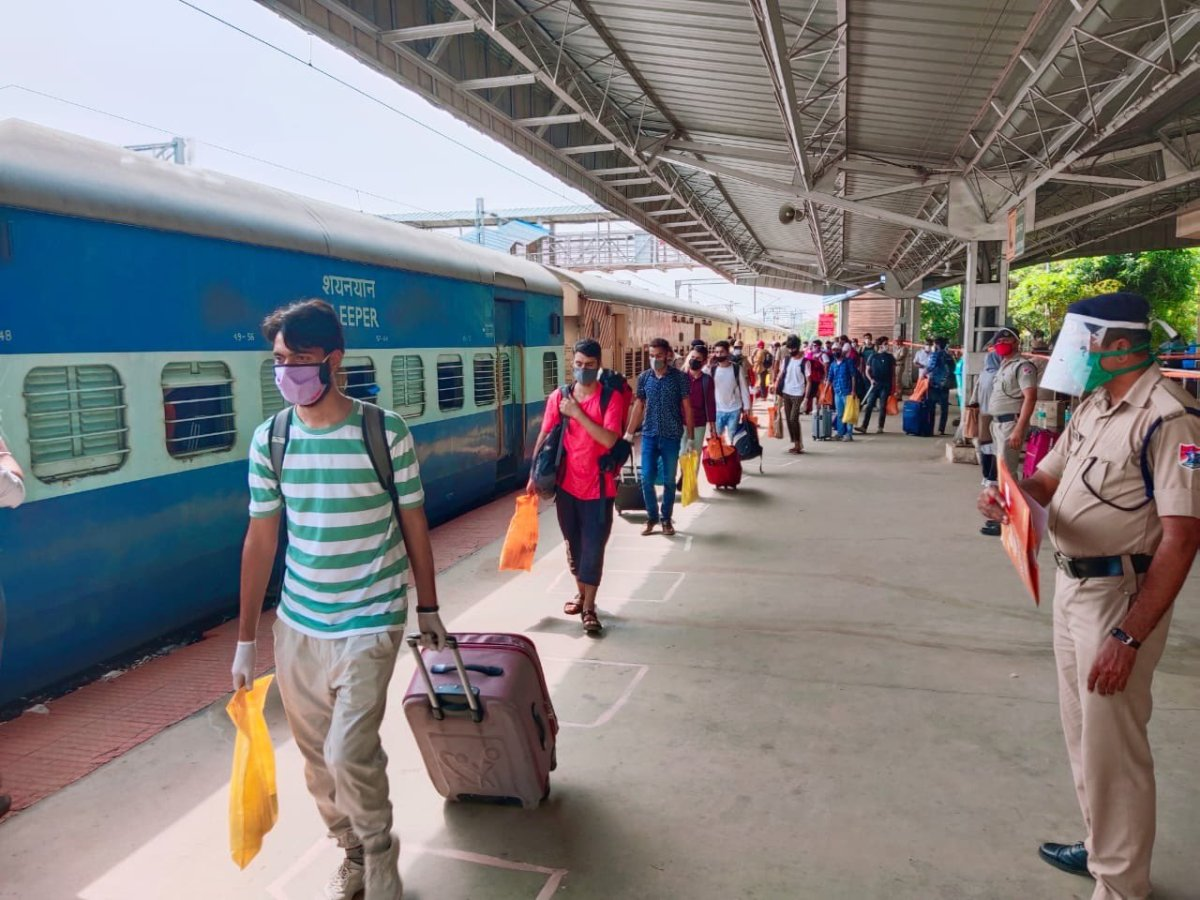 Indian Railways distributes more than 85 lakh free meals