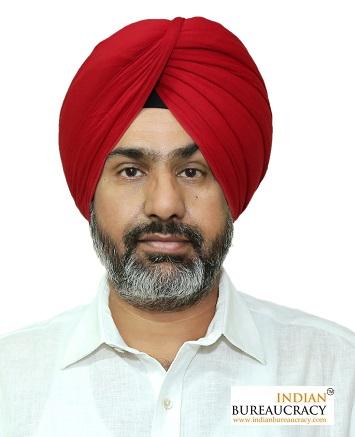 Manvesh Singh Sidhu IAS PB