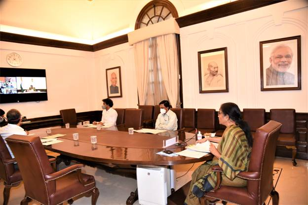 Nirmala Sitharaman attends Special Board of Governors