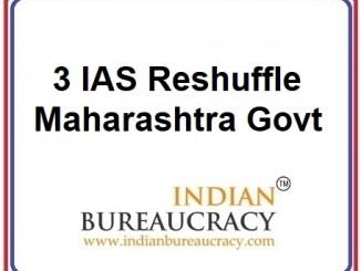 3 IAS Transfer in Maharashtra Govt
