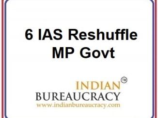 6 IAS Transfer in MP Govt