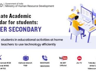 HRD Minister releases Alternative Academic calendar for higher secondary