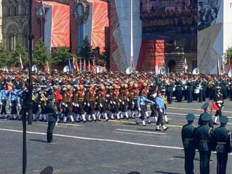 INDIAN ARMED FORCES CONTINGENT PARTICIPATED IN VICTORY DAY PARADINDIAN ARMED FORCES CONTINGENT PARTICIPATED IN VICTORY DAY PARADE AT MOSCOW, RUSSIAT MOSCOW, RUSSIA