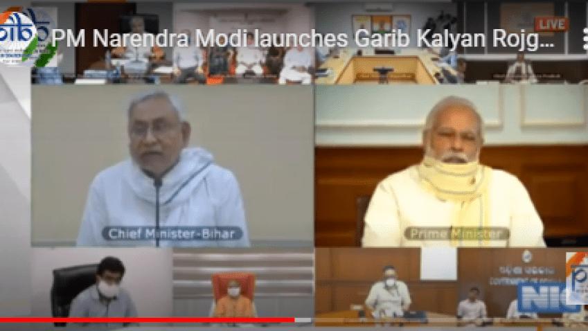 PM Modi launches Garib Kalyan Rojgar Abhiyaan to boost employment