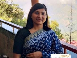 Srishti Chaurasia IRS 2018