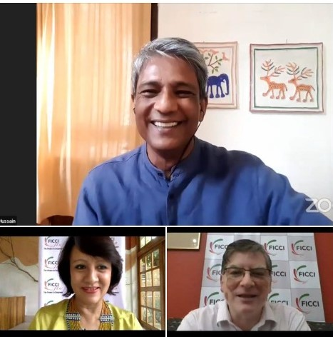 Adil Hussain in candid conversation with FICCI FLO
