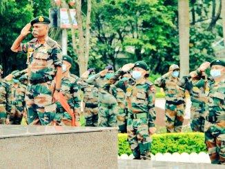 Gajraj Corps Pays Tributes