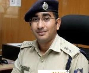 Dharmender Kumar Meena IPS Karnataka