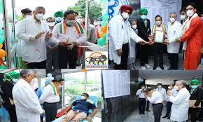 Health Minister inaugurates Voluntary Blood Donation Campaign at AIIMS, Delhi
