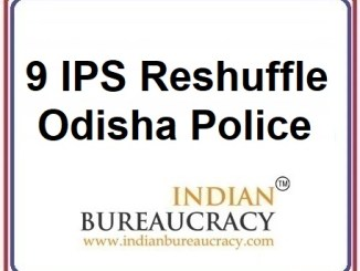 9 IPS Transfer in Odisha Police
