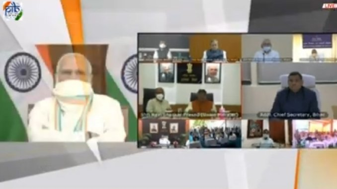 PM launches project to connect all 45,945 village in Bihar with Optical Fibre