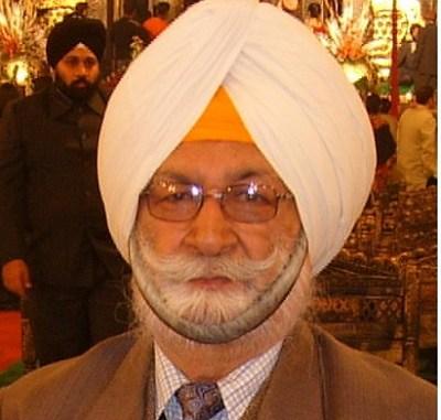 Colonel Amrik Singh (Retd.)