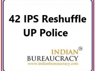 42 IPS Transfer in UP Police