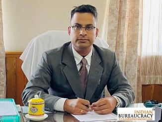 Raj Kumar Yadav IAS Sikkim