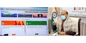 Rajnath Singh launches revamped Gallantry Awards Portal