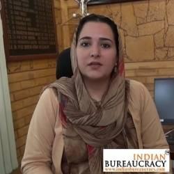 Syed Sehrish Asgar IAS Punjab