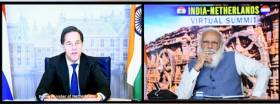 India-Netherlands Virtual Summit