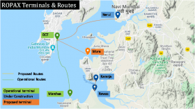 Water taxis and ROPAX Ferries