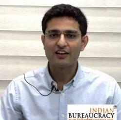 Khatri Vishal Dinanath IFS 2020 batch