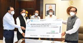 NCL contributes 10 Cr to MP Govt