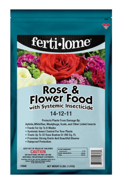 Fertilome Rose and Flower Food with Systemic Insecticide