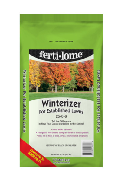 Fertilome Winterizer Lawn Fertilizer 25 0 6