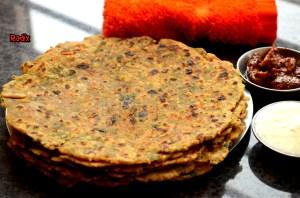 Veggie Paratha 1