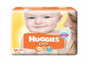 Huggies New Dry Medium Size Diapers