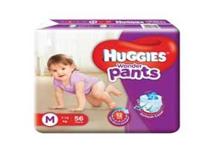 Huggies Wonder Pants Medium Size Diapers 56 Count