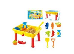 Toys Bhoomi 2-in-1 Beach Sand & Water Play Table for Kids