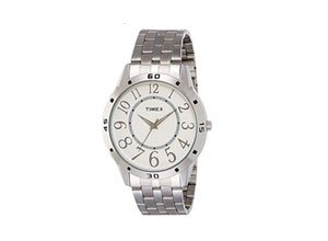 Timex Analog White Dial Men's Watch